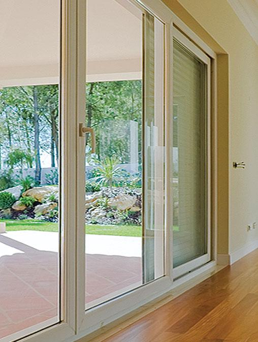 HST-85 (PVC Sliding Doors - Aluplast) - HST 85mm Lift & Sliding Patio PVC Door