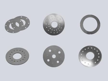 Placa base de tungsteno - f004