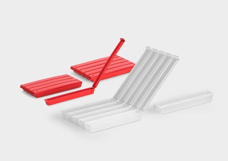 FivePack - Caixas de plástico
