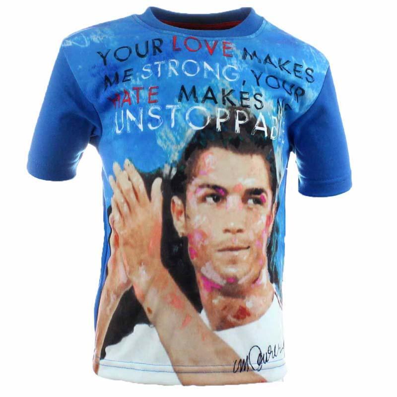 Koszulka chłopiec piłka nożna -
