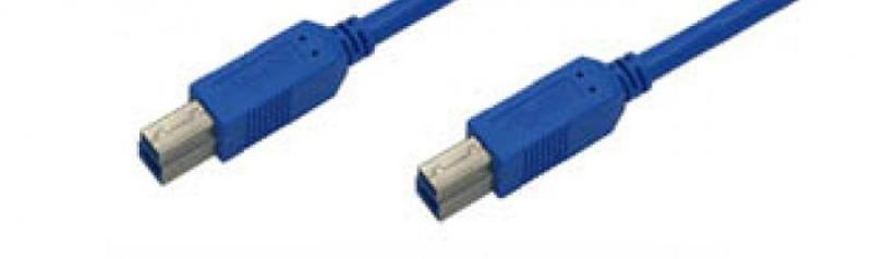 USB cables - USB-cable B-B / male-male 3.0 certified