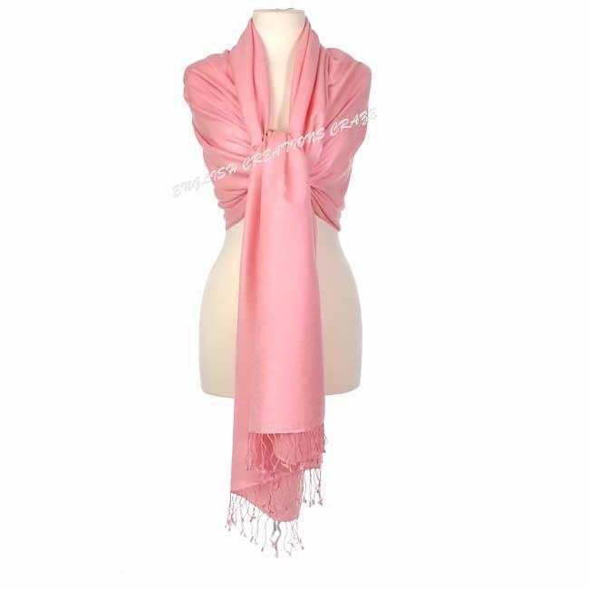 Silk Solid Color Scarves - Silk Solid Color Scarves