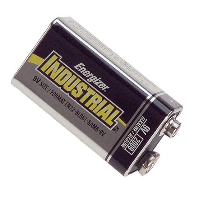 BATTERY ALKALINE 9V - Energizer Battery Company EN22