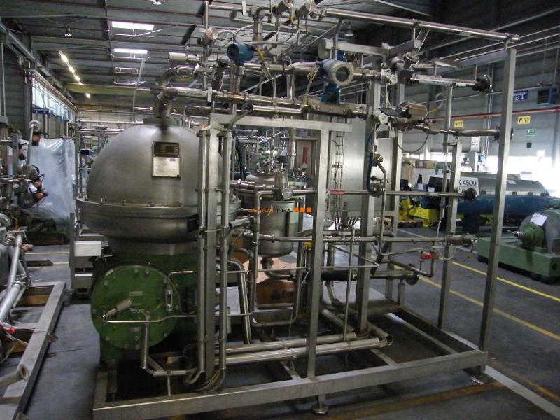 GEA Westfalia Separator Self-cleaning disc centrifuge - CRA 160-96-976
