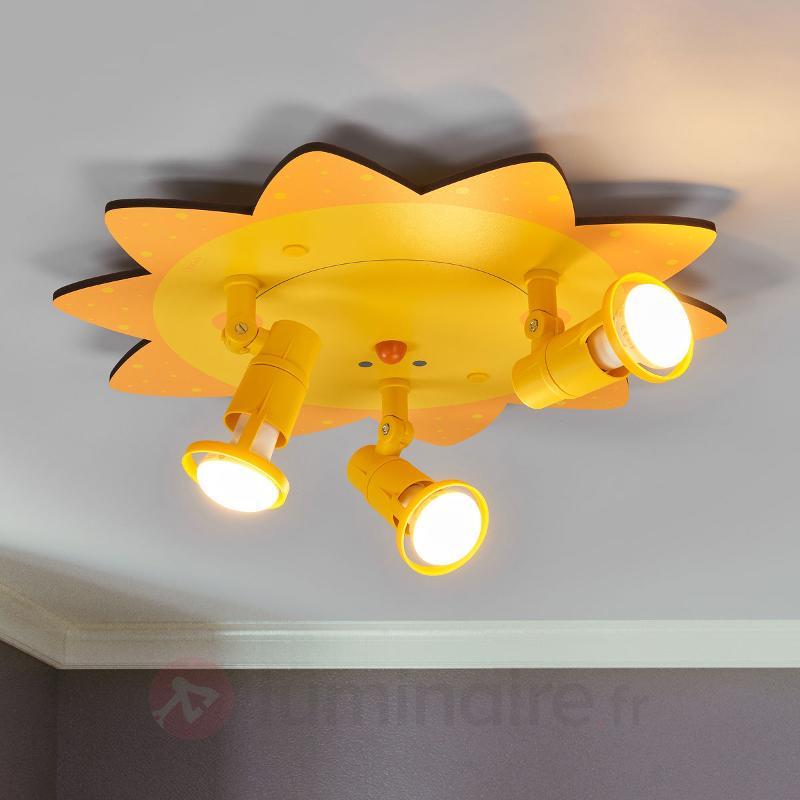 SONNE, un plafonnier 3 lampes très chaleureux - Chambre d'enfant