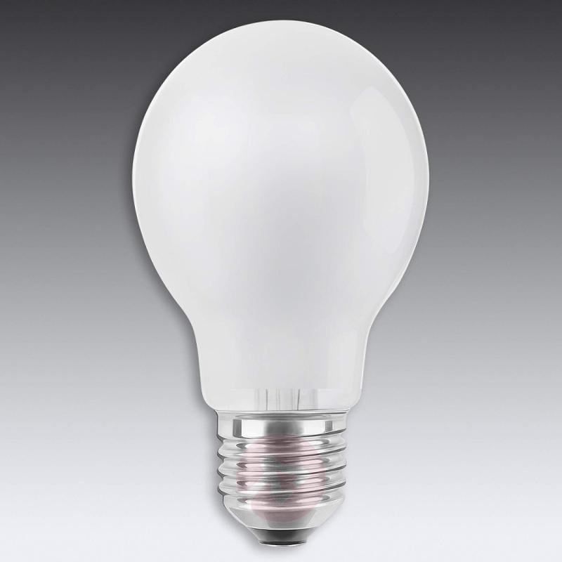 E27 8W 826 LED lamp, matt - light-bulbs