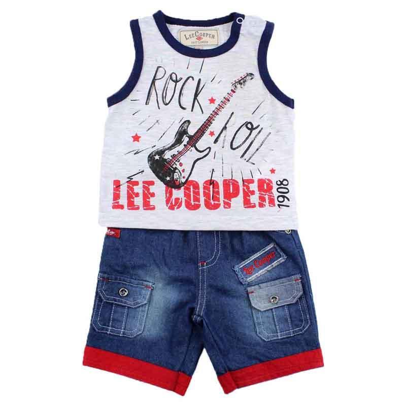 Großhändler kleidungsets baby lizenz Lee Cooper - Sommer Set
