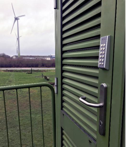 IntelliLock - Die intelligente Zugangskontrolle zu Ihrer Windenergieanlage