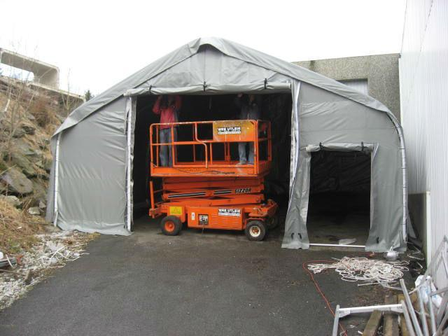 Industrial Storage Tent