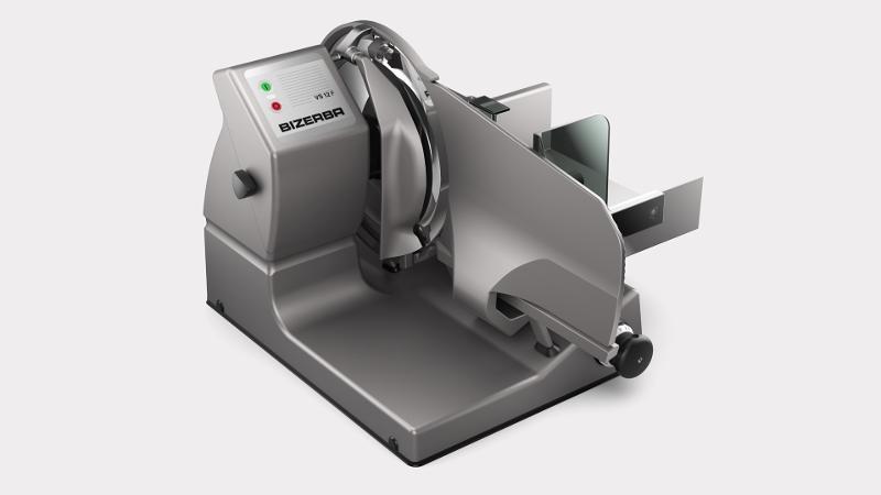 VS12 F - Manuelle Vertikalschneidemaschine mit Kontrollwaage