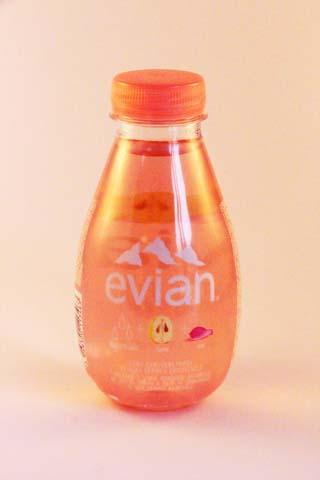 Evian Fruits & plants Water-Grape-rose