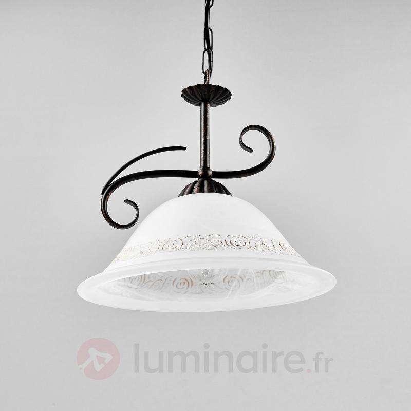 Charmante suspension Calabre - Suspensions rustiques