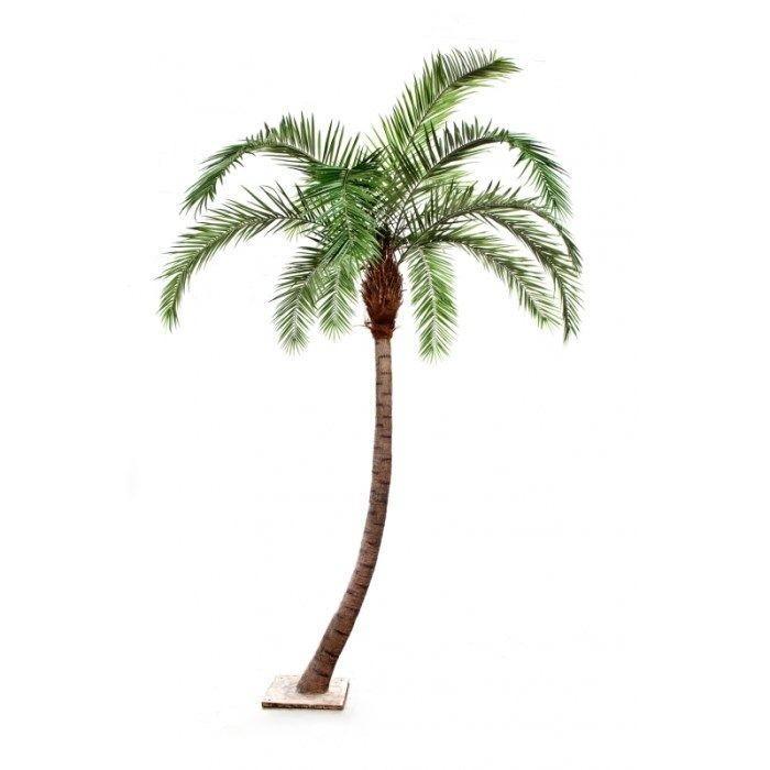 Kunst Palm gebogen 330cm hoog -