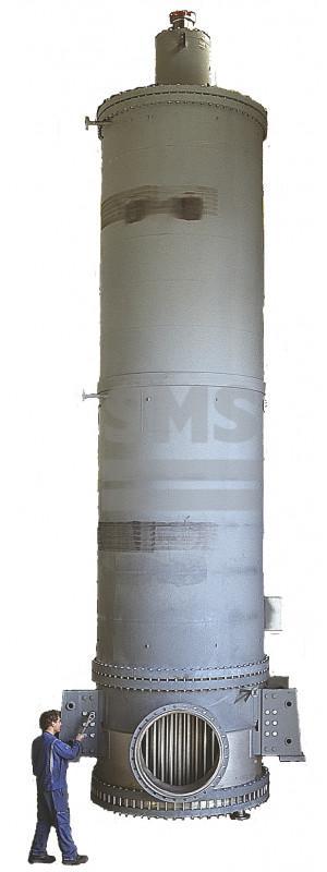 Evaporador de recorrido corto - Evaporador de recorrido corto  en una variedad única de diseños de rotor