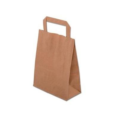 Paper Bag with Flat Handles
