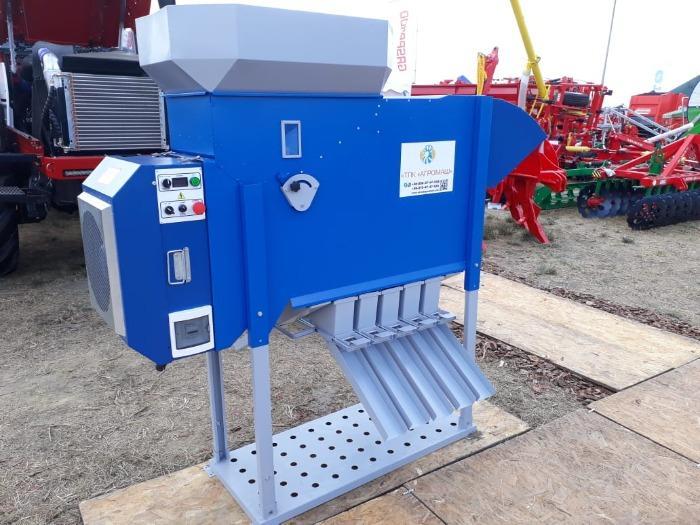Сепаратор зерна аэродинамический 5 т/ч - Grain cleaning equipment, Aerodynamic grain separator