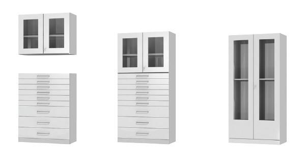 Cabinets - Laboratory cabinets, different models