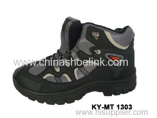 men hiking shoes  - High quality China - with shock absorption outsole (KY-MT-1303)