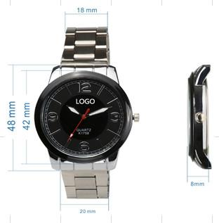 Alloy watch with steel strap for wholesale GC-ZS-A026  - new arrival OEM customized alloy watch for men or women from china factory