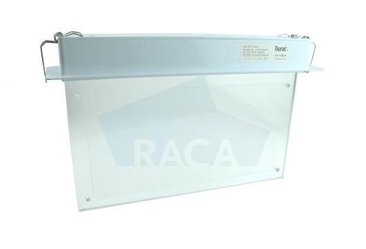 Taurac recessed mounted emergency lighting - Emergency lighting exit sign - E1D14501