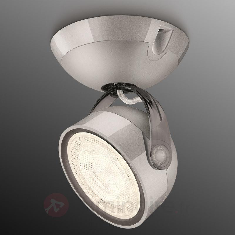 Spot LED gris Dyna à 1 lampe - Spots et projecteurs LED