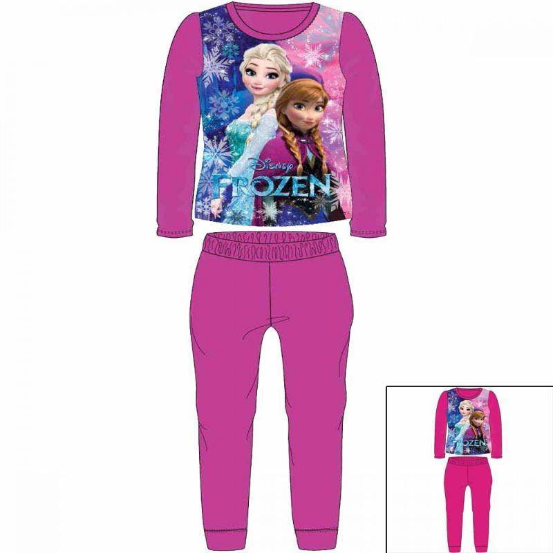 12x Pyjamas polaires La Reine des Neiges du 2 au 8 ans - Pyjama
