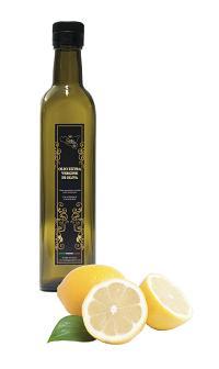Olio extra vergine di oliva di sicilia - Olio extra vergine di oliva aromatizzato con limone