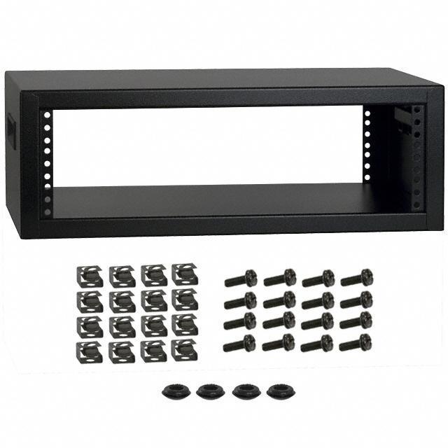 RACK STEEL 13X21X7.25 BLK - Hammond Manufacturing RCBS1900513BK1