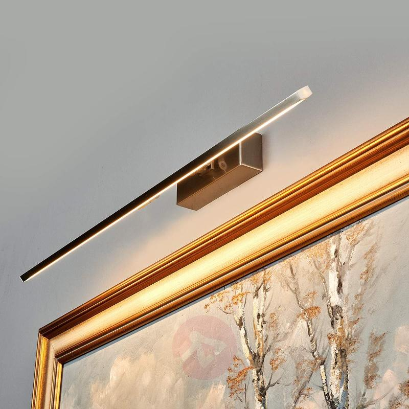 Elongated LED picture light Emilias - Wall Lights