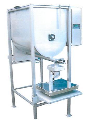 machines - doseersystemen - Horizontale schroefdosering voor poeders