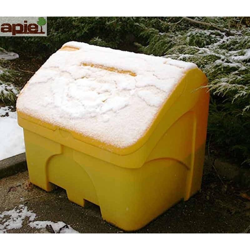 Coffre à sel ou sable 400 L jaune - Référence : CS400J/ECO1