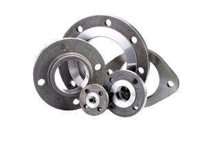 Threaded flanges - Steel products