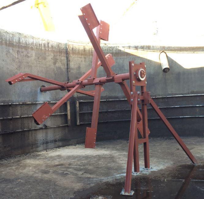 Schwanko - horizontales Paddelrührwerk - für schwankende Füllstände und / oder hochviskose Medien