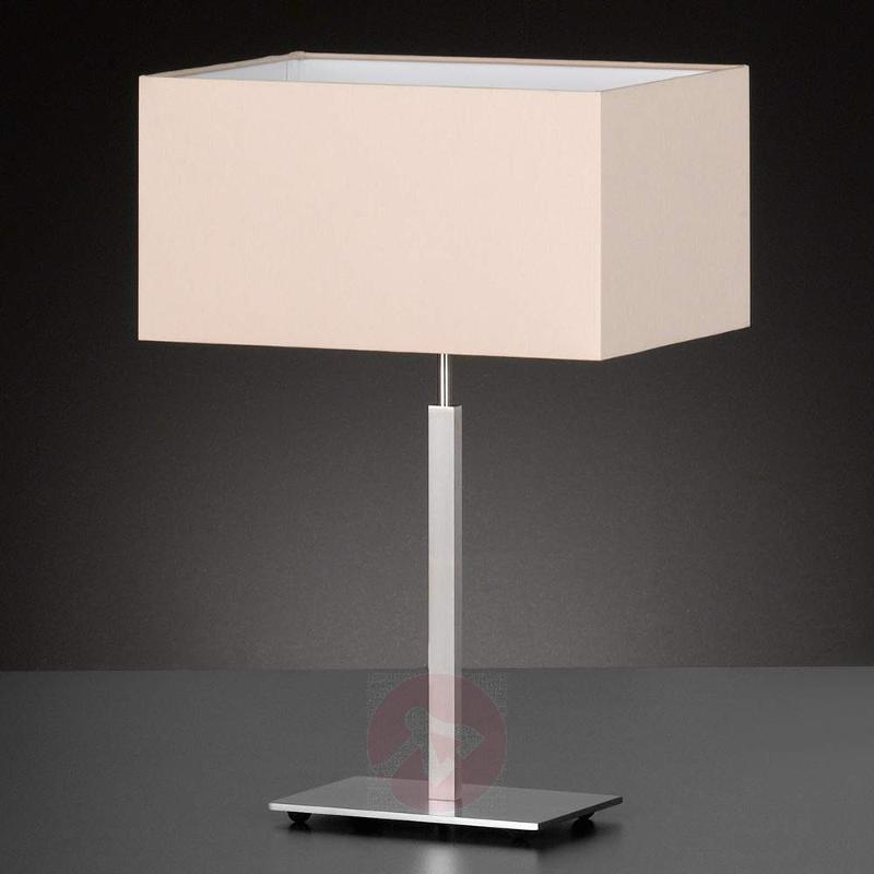 Shade melange - fabric table lamp Casta - Table Lamps