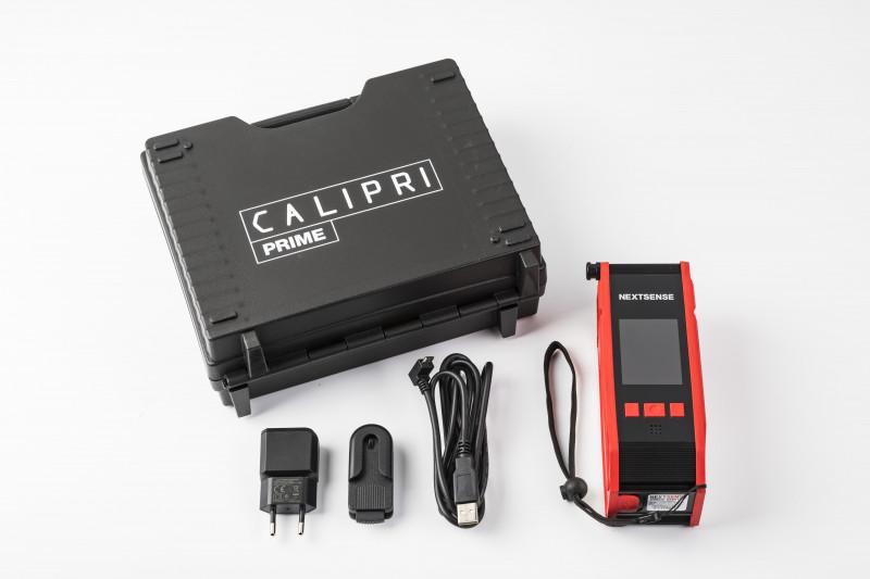 Moyen de mesure de profil de roue CALIPRI Prime - Moyen de mesure optique portatif pour évaluer l'usure du profil de roue