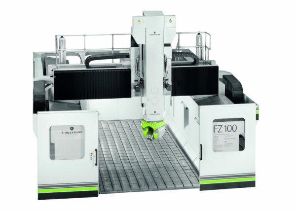CNC Portalfräsmaschine FZ100 - 6 Achsen - CNC Portalfräsmaschine FZ100 für die Volumenzerspanung von Aluminium, Composite