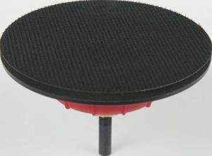 Schleifteller zum Polieren - Mit flexibler Achse, Klettsystem