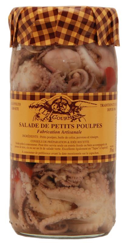 Salade de Petits Poulpes 37cl - Produits de la mer