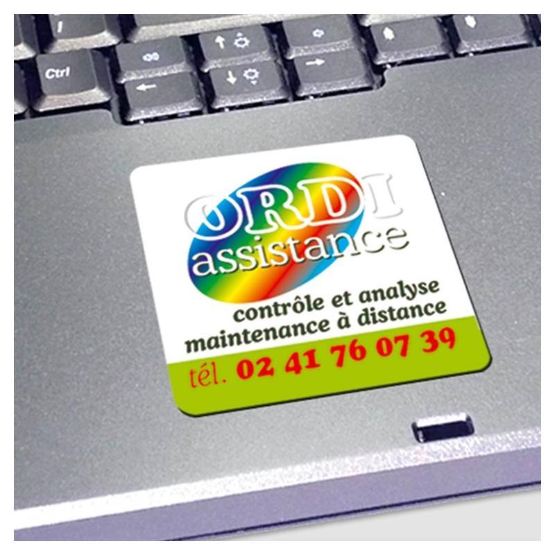 Étiquettes industrielles QUADRI - usage intérieur - Étiquettes industrielles