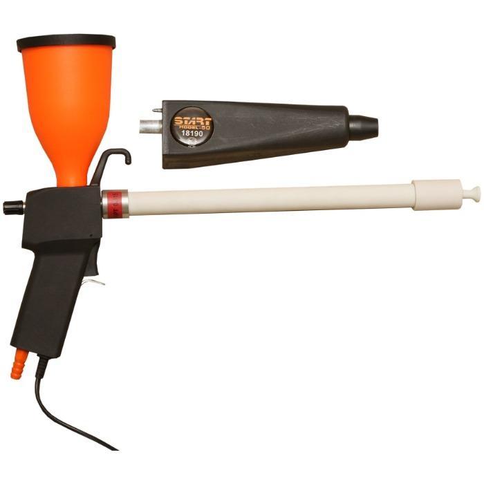 Powder coating gun - START-50 combi