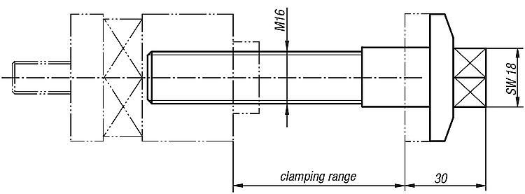 Clamping Bolts - Clamp straps Clamping devices