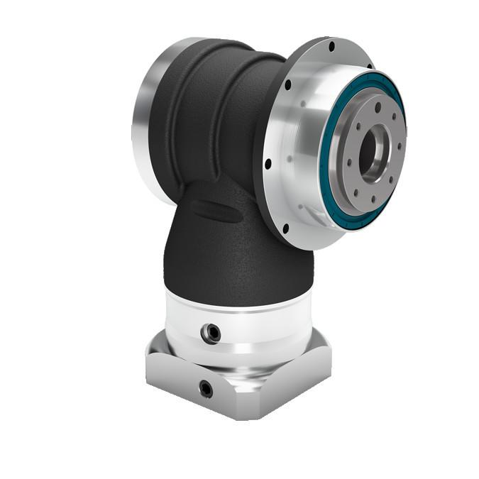 WPSFN - Right Angle Planetary Gearbox with Output Flange - IP65