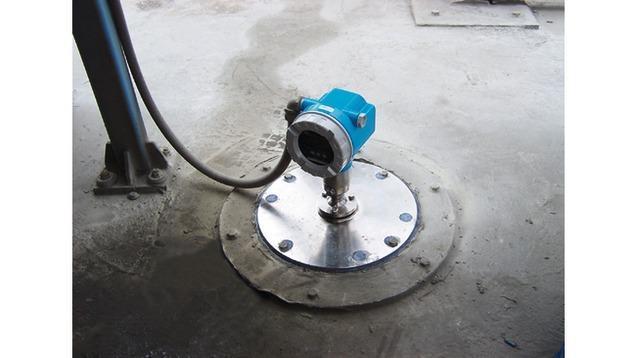 mesure detection niveau - radar niveau FMR250