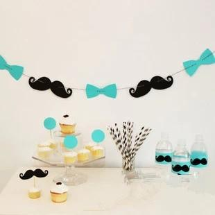 Mr. Moustache thema party