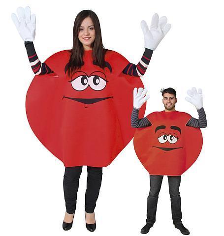 Costume M&M taille unique - Articles de fête et Carnaval