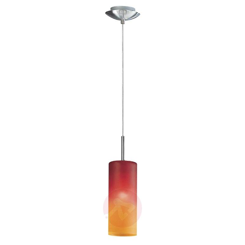 TROY Attractive Pendant Lamp in Red and Orange - Pendant Lighting
