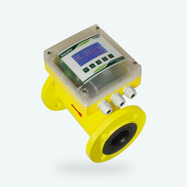 T500 - Caudalímetro electromagnético, líquidos conductivos, DN25...DN500