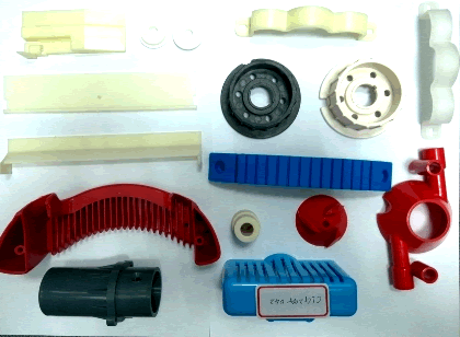 Plastic parts - We produce plastic parts by injection molding