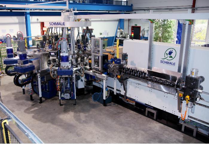 Speedmax - La soluzione di automazione nella tecnologia di piegatura per grandi quantità