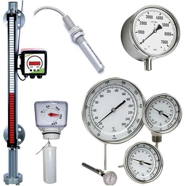 Instrumentation - Tous nos instrument de mesure du fluide, gaz, etc...
